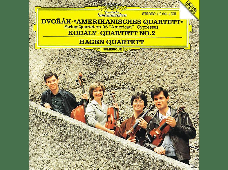 Hagen Quartett - Amerik.Quart./Streichquart.2 [CD]