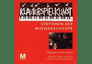 Jürgen Plich - Klavierkunst-Stationen der Musikgeschichte  - (CD)