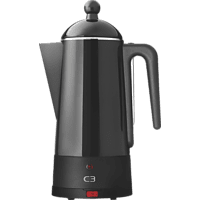 C3 30-30204 Design Perkolator Eco Kaffeebereiter Schwarz
