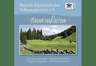 Bairisch-Alpenländ.Volksmusikverein e.V - Musterkofferl 3-Hinum & Herum  - (CD)