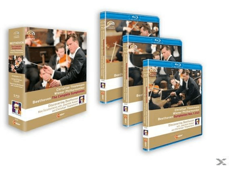 Thielemann Christian - Sinfonien 1-9 [Blu-ray]
