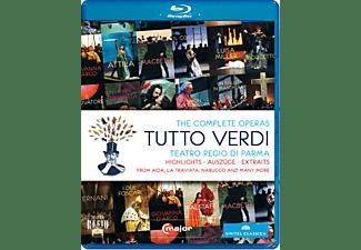 Diverse, VARIOUS - Tutto Verdi-Sampler  - (Blu-ray)