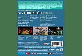 Summers/Pountny/Wiener Symphon, Summers/Reiter/Reinhardt/Durlovsky - Die Zauberflöte  - (Blu-ray)