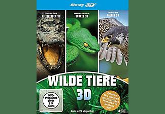 Königreich der Alligatoren, Vorsicht: Schlangen - Snakes 3D, Welt der Falken 3D Blu-ray