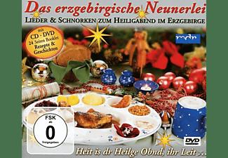 VARIOUS - Das Erzgebirgische Neunerlei  - (CD + DVD Video)