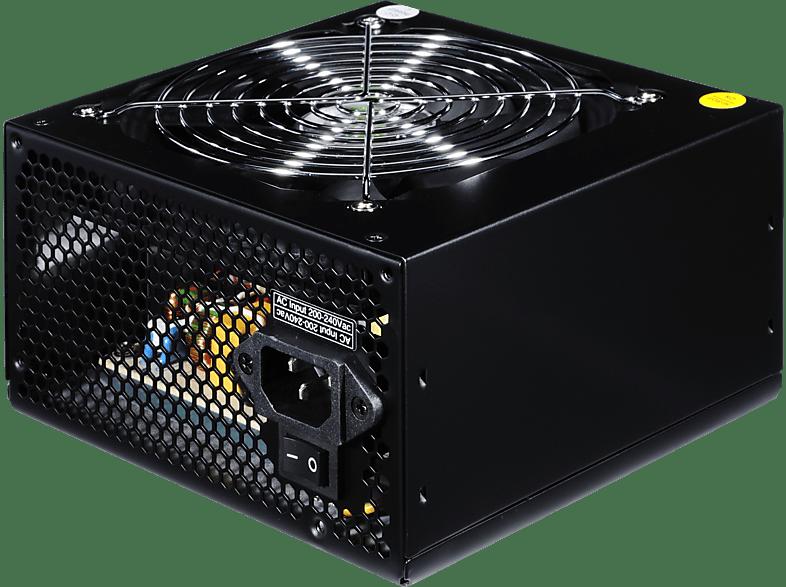 ULTRON RP750 ECO 80plus PC-Netzteil, Schwarz