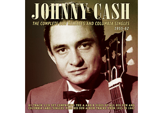 Johnny Cash - The Compl.Sun Releases And Columbia Singles '55-66  - (CD)