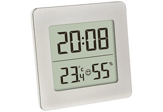 VIVANCO Digitales Thermo Hygrometer, silber