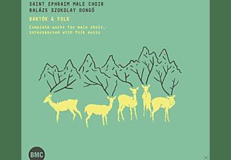 Saint Ephraim Male Choir, Szokolay Dongó Balázs - Bartók & Folk  - (CD)