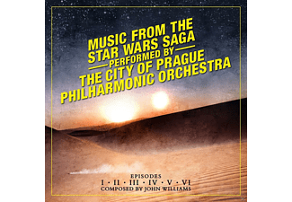 The City Of Prague Philharmonic Orchestra - Music From The Star Wars Saga-Episodes 1-6  - (CD)