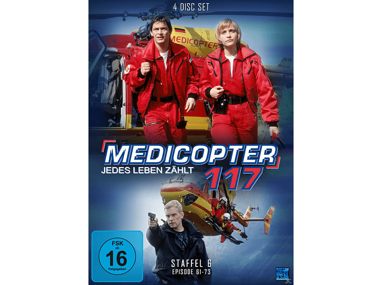 Medicopter 117 - Staffel 6 [DVD]