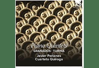 Javier Perianes, Cuarteto Quiroga - Klavierquintette  - (CD)
