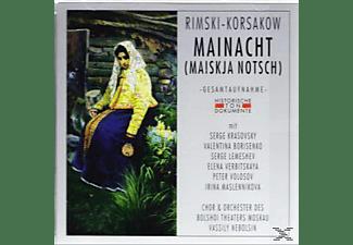 Chor & Orchester Des Bolshoi Theaters Moskau - Mainacht (Maiskaja Notsch)  - (CD)