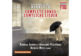 Konrad Jarnot, Adrianne Pieczonka, Reinild Mees - Sämtliche Lieder  - (CD)
