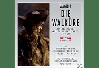 Coro E Orquesta Est.Del Teatro Colon Buenos Aires - DIE WALKÜRE  - (CD)