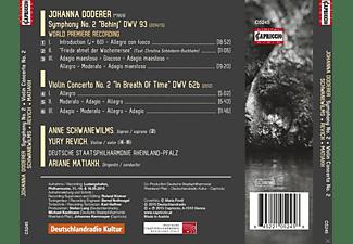 Anne Schwanewilms, Yury Revich, Deutsche Staatsphilharmonie Rheinland-Pfalz - Sinfonie 2/Violinkonzert  - (CD)