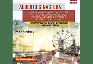 Deutsche Staatsphilharmonie Rheinland-Pfalz - Variaciones Concertantes/Ollantay/Bomarzo/+  - (CD)