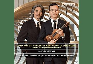 Andrew Wan, Kent Nagano, Orchestre Symphonique De Montreal - Sämtliche Violinkonzerte  - (CD)