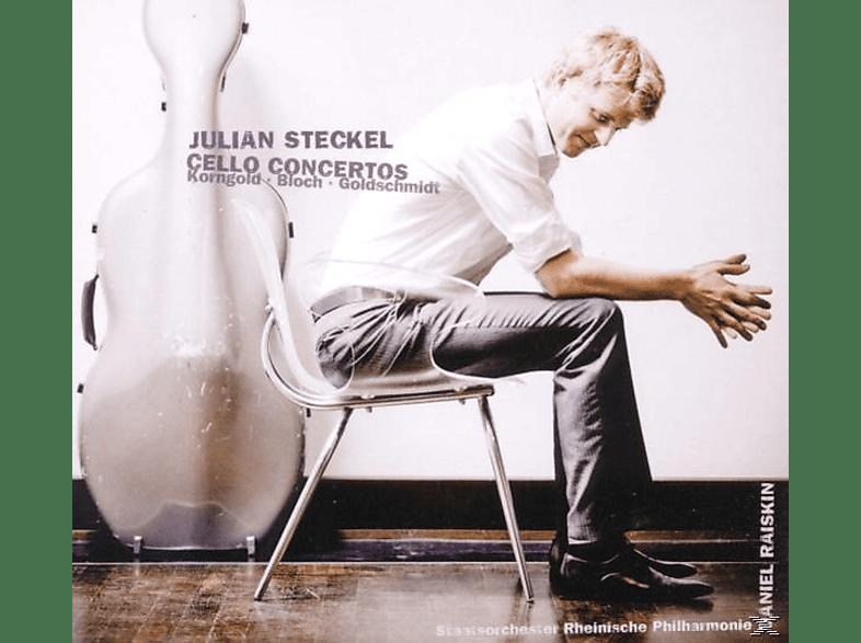 Rheinische Philharmonie, Raiskin, Julian Steckel - Cellokonzerte [CD]