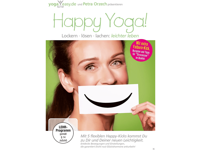 Yoga Easy - HAPPY YOGA - Lockern, Lösen, Lachen - Lebe leichter! [DVD]