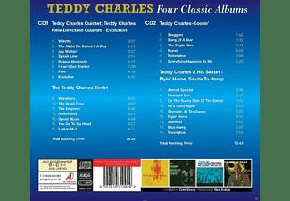 Teddy Charles - Teddy Charles - Four Classic Albums  - (CD)