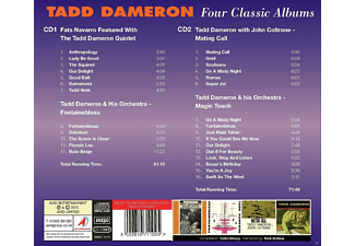 Tadd Dameron - Tadd Dameron - Four Classic Albums  - (CD)