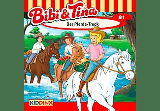 Bibi Und Tina - Folge 81: Der Pferde-Treck  - (CD)
