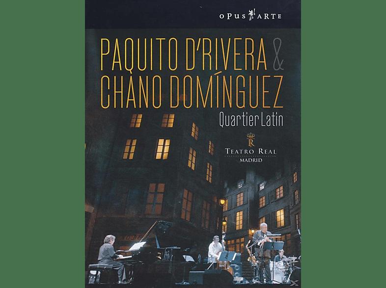 Paquito d'Rivera, Chano Dominguez - QUARTIER LATIN [DVD]