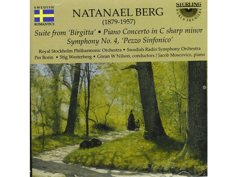 "VARIOUS - Suite From ""brigitta"" / Piano Concerto In C Sharp Minor / Symphonie Nr.4 ""pezzo Sinfonico"" [CD]"