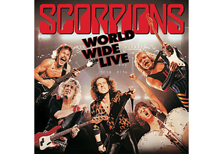 Scorpions - World Wide Live (50th Anniversary Deluxe Edition)  - (LP + Bonus-CD)