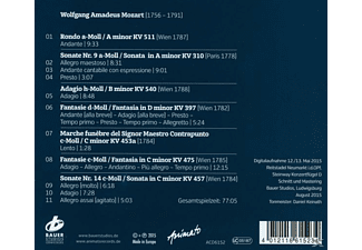 Michael Wessel, VARIOUS - Mozart In Moll  - (CD)