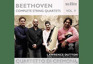 Lawrence Dutton, Quartetto Di Cremona - Complete String Quartets Vol.5  - (SACD Hybrid)