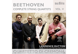 Lawrence Dutton, Quartetto Di Cremona - Complete String Quartets Vol.5 - (SACD)
