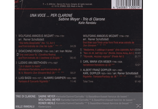 Meyer Sabine - Una Voce...Per Clarone  - (CD)