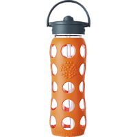 LIFEFACTORY 15011 Trinkflasche Orange