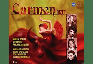 Magdalena Kozená, Jonas Kaufmann, Genia Kühmeier, Kostas Smoriginas, Berliner Philharmoniker - Carmen  - (CD)
