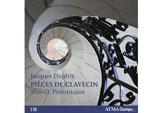YVES-G. Prefontaine - Pieces De Clavecin - (CD)