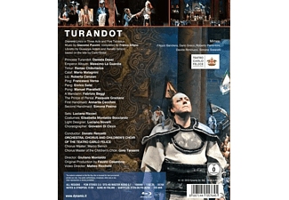 VARIOUS, Chorus And Childre's Choir Of The Theatro Carlo Felice Orchestra - Turandot  - (Blu-ray)