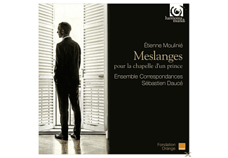Ensemble Correspondances Sébastien Daucé - Meslanges - (CD)