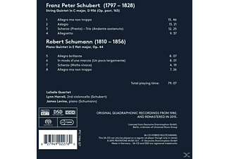 James Levine, Lynn Harrell, Lasalle Quartet - Streichquintett D 956 / Klavierquintett Op. 44  - (SACD)