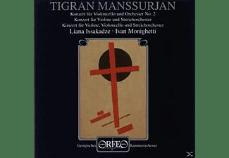 Liana Issakadze, Georgisches Kammerorchester, Ivan Monighetti - Manssurjan Konzert Für Violine , Violoncello Und Streichorchester  - (CD)