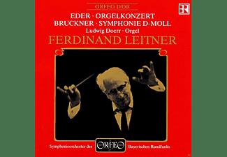 Helmut Eder, Anton Bruckner - Eder: Orgelkonzert - Bruckner: Symphonie D-Moll  - (CD)