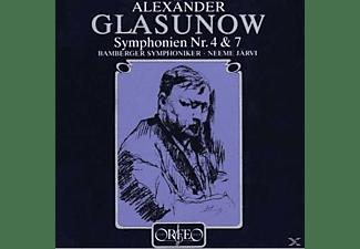 Bamberger Symphoniker, Neeme Jarvi - Sinfonien 4 Es-Dur Op.48 / 7 E-Dur Op.77  - (Vinyl)