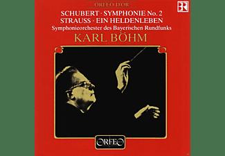 Böhm, Sobr - Sinfonie 2 B-Dur D 125/Ein Heldenleben Op.40  - (CD)