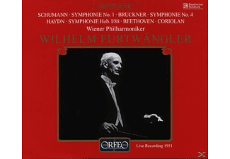 "Wilhelm Wiener Philharmoniker & Furtwängler - Sinfonie 4 ""Romantische""/+  - (CD)"