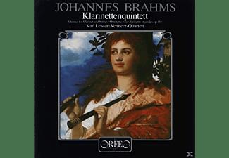 Leister & Vermeer-quartett - Klarinettenquintett h-moll op.115  - (CD)