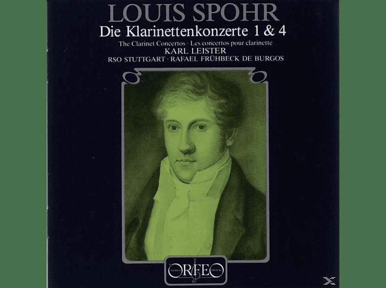 Rsos - Klarinettenkonzerte 1 c-moll op.26/4 e-moll WoO 20 [CD]