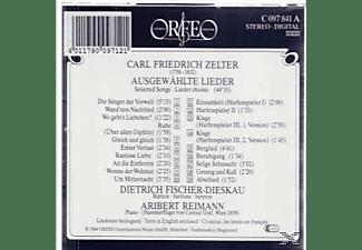Aribert Reimann, Dietrich Fischer-Dieskau - Ausgewählte Lieder  - (CD)