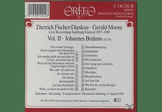 Fischer-dieskau & Moor - Salzburger Liederabende Vol.2:4 ernste Gesänge/+  - (CD)
