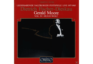 Dietrich Fischer-Dieskau, Wolf, Moor - Salzburger Liederabende Vol.4:Mörike-Lieder (1888)  - (CD)